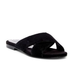 "DOLCE VITA ""Karlo"" Crossover Slide Sandal"